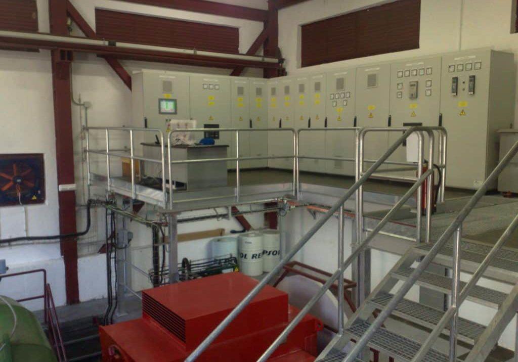 Automatización de central hidroeléctrica