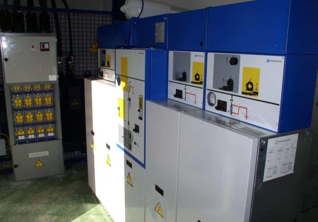 Instalación eléctrica en polígono industrial en Asturias